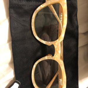 Valley Eyewear REISSUE peach pearl w/rose gold arm